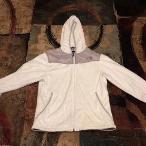 White Northface Jacket
